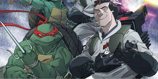 Teenage Mutant Ninja Turtle Ghostbusters #1