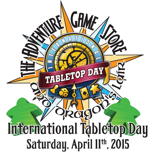 International Tabletop Day III - April 11th, 2015
